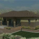 проект дома из пеноблока-газобетона SDn-333 4