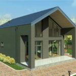 проект дома из пеноблока-газобетона SDn-336 4