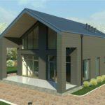 проект дома из пеноблока-газобетона SDn-336 6