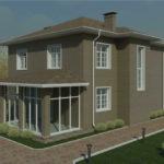 проект дома из пеноблока-газобетона SDn-337 6
