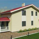 проект дома из пеноблока-газобетона SDn-363 4