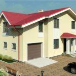 проект дома из пеноблока-газобетона SDn-363 5