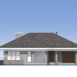 проект дома из пеноблока-газобетона SDn-390 2