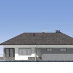 проект дома из пеноблока-газобетона SDn-390 3
