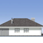 проект дома из пеноблока-газобетона SDn-390 4