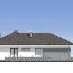 проект дома из пеноблока-газобетона SDn-390 5