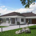 проект дома из пеноблока-газобетона SDn-390 7