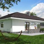 проект дома из пеноблока-газобетона SDn-390 9