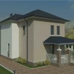 проект дома из пеноблока-газобетона SDn-391 6
