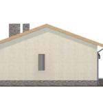 проект дома из пеноблока-газобетона SDn-402 3
