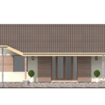 проект дома из пеноблока-газобетона SDn-402 4