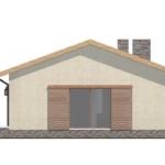 проект дома из пеноблока-газобетона SDn-402 5