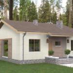 проект дома из пеноблока-газобетона SDn-402 6