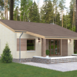 проект дома из пеноблока-газобетона SDn-402 8