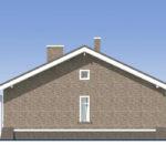 проект дома из пеноблока-газобетона SDn-485 3