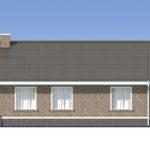 проект дома из пеноблока-газобетона SDn-485 4