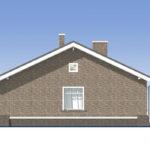 проект дома из пеноблока-газобетона SDn-485 5