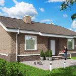 проект дома из пеноблока-газобетона SDn-485 6