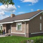 проект дома из пеноблока-газобетона SDn-485 7