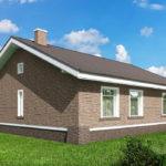 проект дома из пеноблока-газобетона SDn-485 8