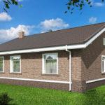 проект дома из пеноблока-газобетона SDn-485 9