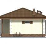 проект дома из пеноблока-газобетона SDn-509 2