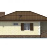 проект дома из пеноблока-газобетона SDn-509 3