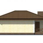 проект дома из пеноблока-газобетона SDn-509 5