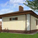 проект дома из пеноблока-газобетона SDn-509 7