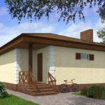 проект дома из пеноблока-газобетона SDn-509 8