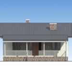 проект дома из пеноблока-газобетона SDn-514 2