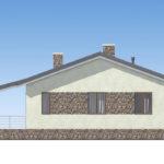 проект дома из пеноблока-газобетона SDn-514 3