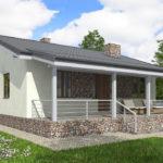 проект дома из пеноблока-газобетона SDn-514 7