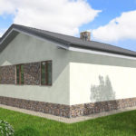 проект дома из пеноблока-газобетона SDn-514 9
