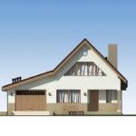 проект дома из пеноблока-газобетона SDn-522 3