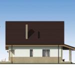 проект дома из пеноблока-газобетона SDn-522 4
