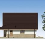 проект дома из пеноблока-газобетона SDn-522 6