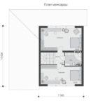 проект дома из пеноблока-газобетона SDn-522 7