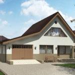проект дома из пеноблока-газобетона SDn-522 9
