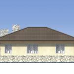 проект дома из пеноблока-газобетона SDn-528 4