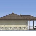 проект дома из пеноблока-газобетона SDn-528 5