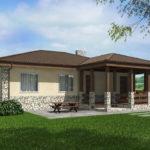 проект дома из пеноблока-газобетона SDn-528 6