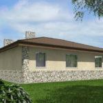 проект дома из пеноблока-газобетона SDn-528 8