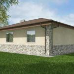 проект дома из пеноблока-газобетона SDn-528 9
