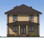 проект дома из пеноблока-газобетона SDn-531 5