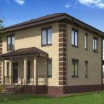 проект дома из пеноблока-газобетона SDn-531 7