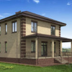 проект дома из пеноблока-газобетона SDn-531 8