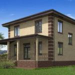 проект дома из пеноблока-газобетона SDn-531 9