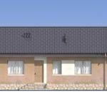 проект дома из пеноблока-газобетона SDn-556 2