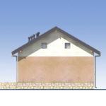 проект дома из пеноблока-газобетона SDn-556 3